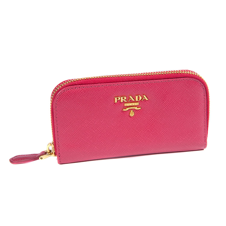 987113f1906d Beste Preise Im Netz Freies Verschiffen Finden Große Damen Rosa Saffiano  Leder Kleine Schlüssel Tasche Prada