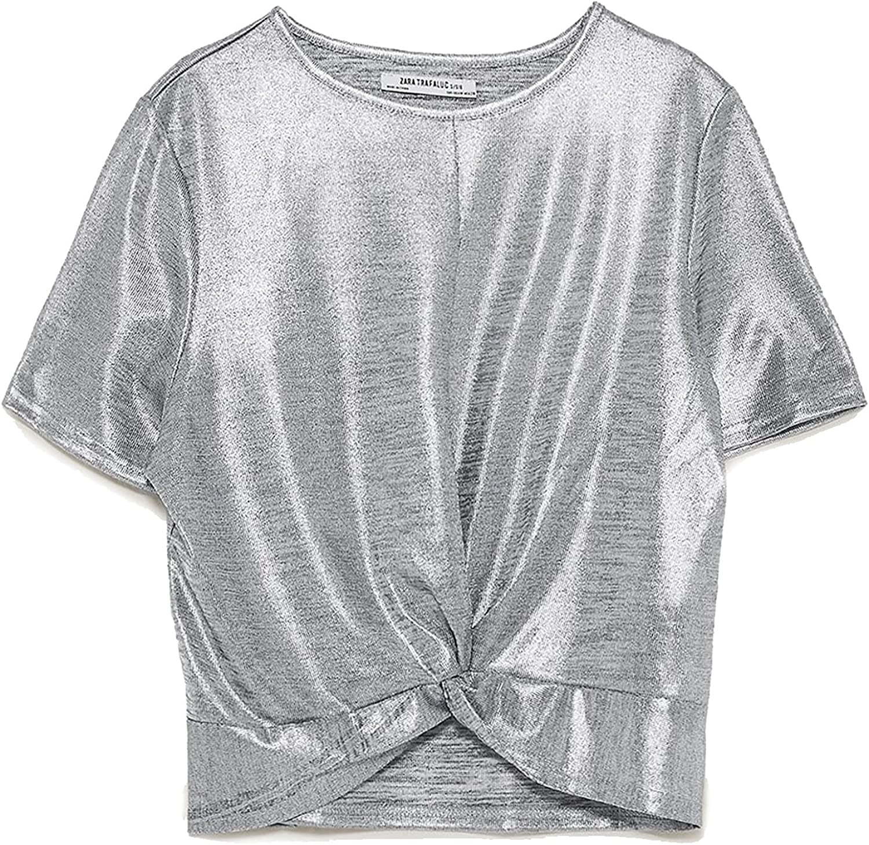 Zara - Camisas - para mujer beige M: Amazon.es: Ropa y ...