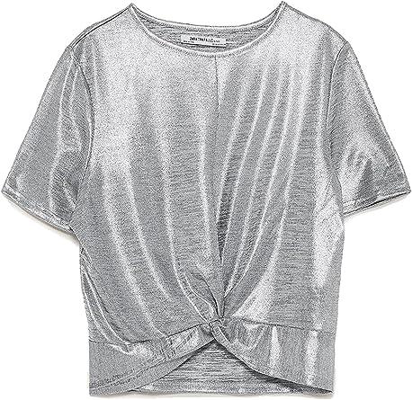 Zara - Camisas - para mujer beige M: Amazon.es: Ropa y accesorios
