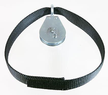 amazon com spud econo pulley lat pulldown machine cable attachment