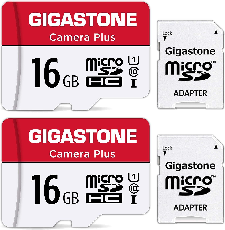 Gigastone 16gb Mirco Sd Speicherkarte 2er Pack Kamera Computer Zubehör