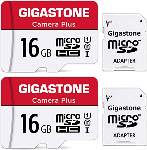 Gigastone 16gb Micro Sd Card Camera Plus 90mb Computers Accessories