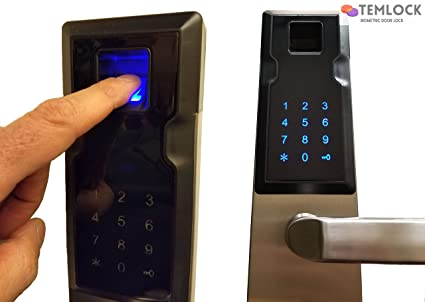 TEMLOCK Biometric Door Lock Deadbolt Combination - Keyless