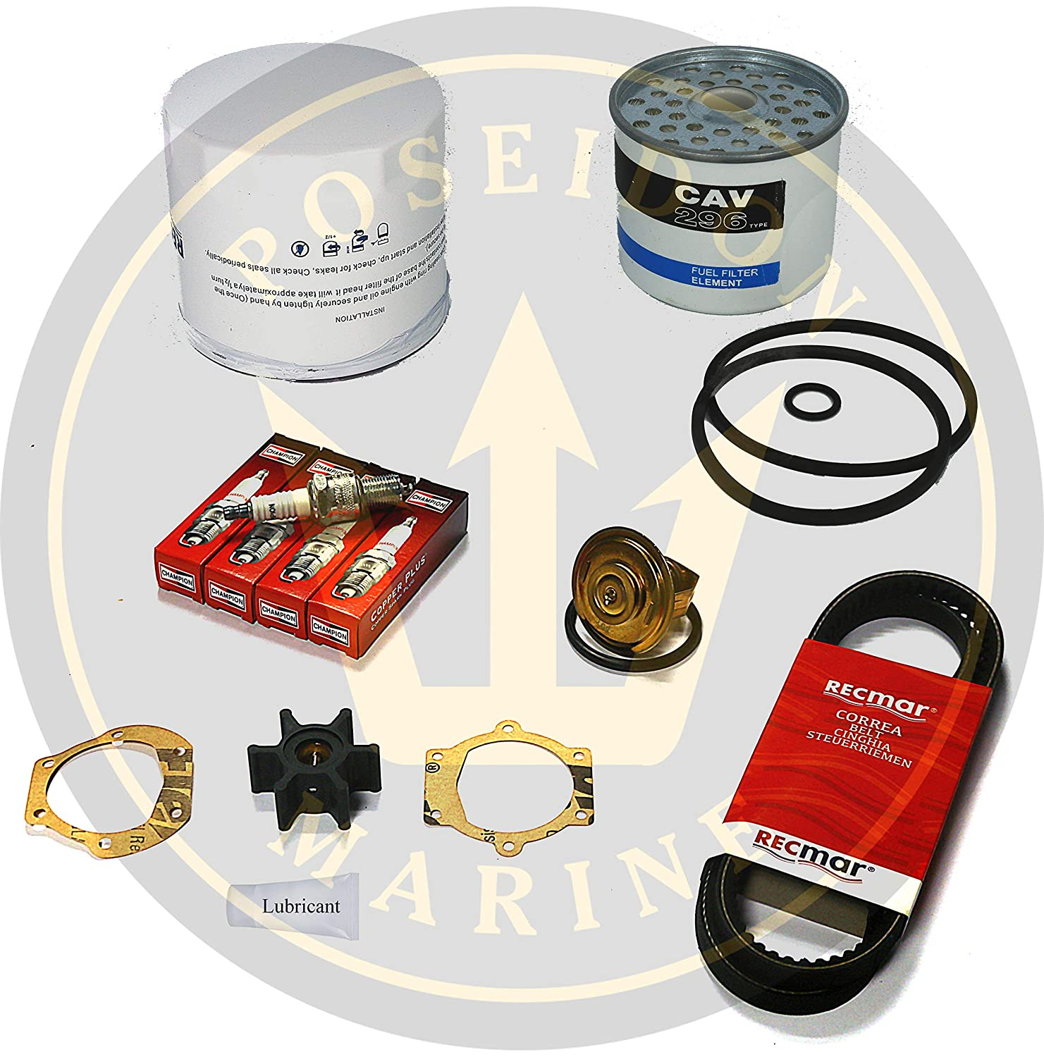 Amazon com : Poseidon Marine Service kit for Volvo Penta