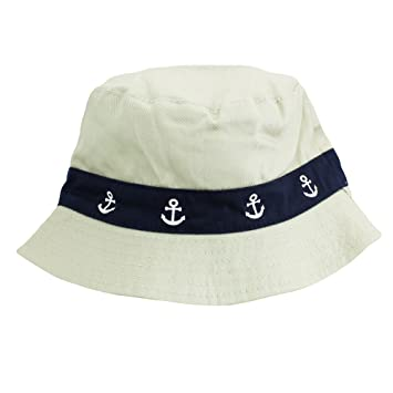 f771a8fe707 Anchor Reversible Bucket Hat summer hat beach hat safari hat