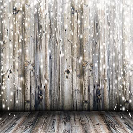 Christmas Wood Background.Light Grey Wood Wall Photography Backdrop Gray Wooden Floor Photo Backgrounds For Christmas 8x8ft