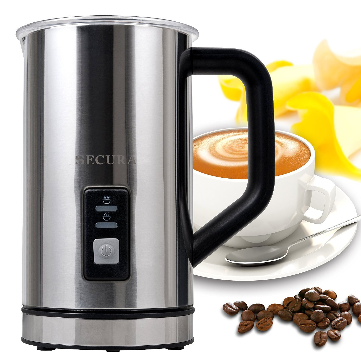 Secura Automatic Electric Milk Frother and Warmer 500ml