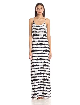 Tart Collections Women's Bernice Striped Maxi Dress at Amazon ...