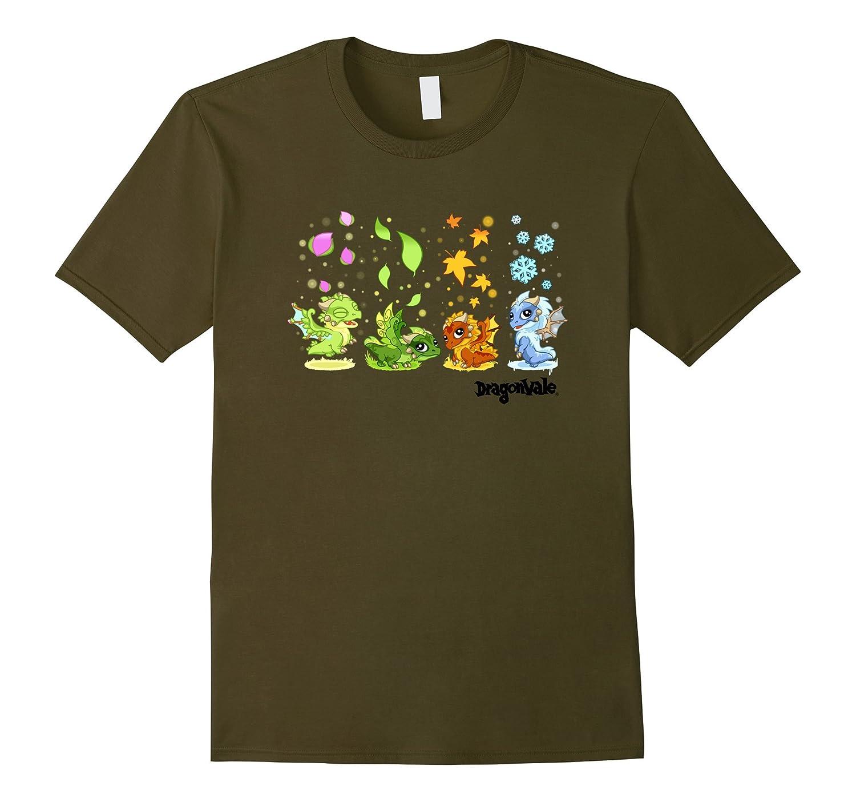 DragonVale: The Four Seasonal Dragon T-Shirt-CL
