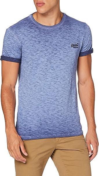 Superdry Hombre Camiseta de algodón orgánico Low Roller: Amazon.es: Ropa y accesorios