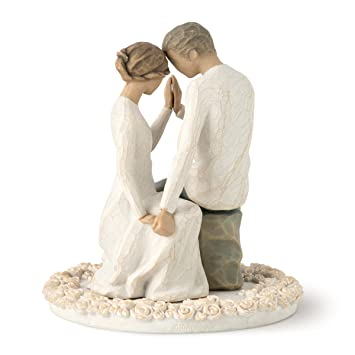 Willow Tree Cake Topper Around You