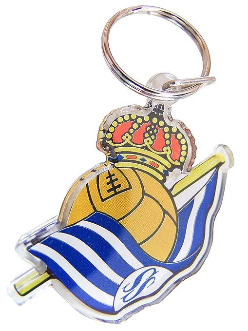 Real Sociedad Llavero Escudo Plástico: Amazon.es: Deportes y ...