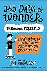 365 Days of Wonder: Mr. Browne's Precepts Paperback