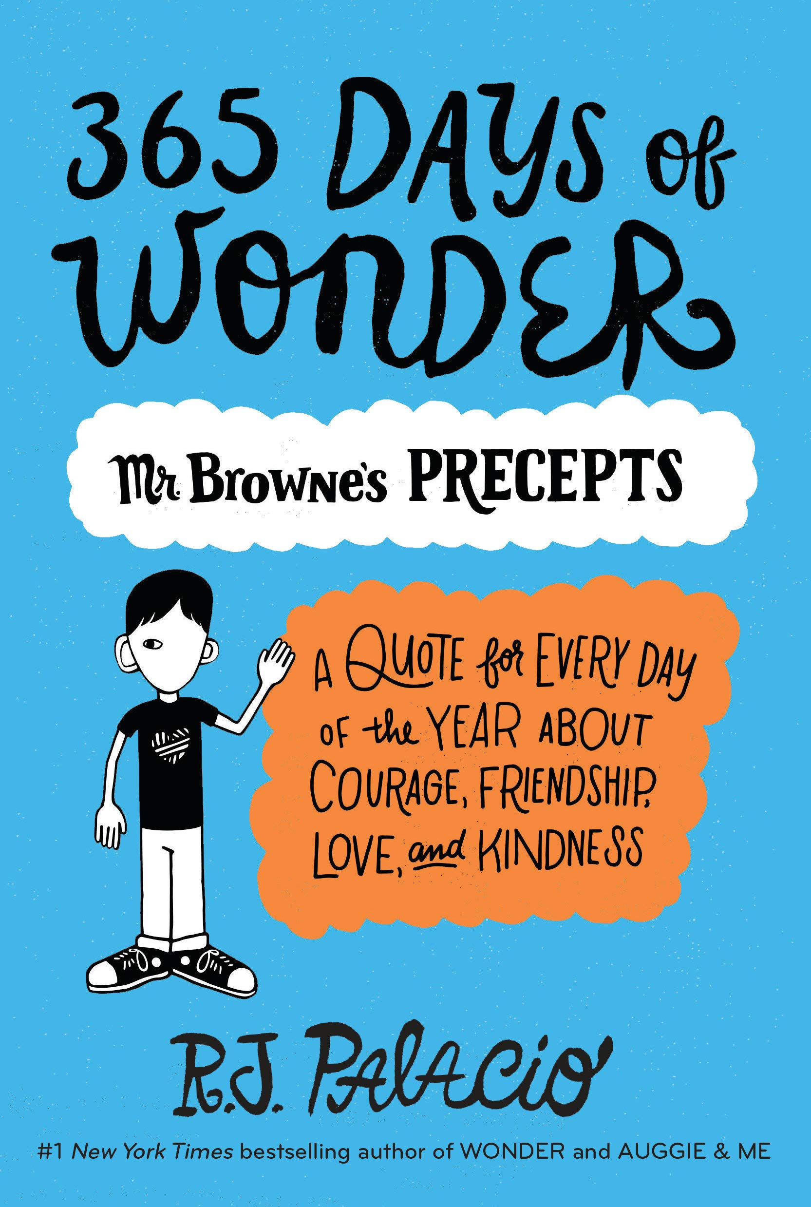 Image result for 365 days of wonder list of precepts