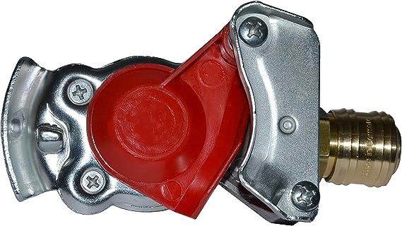 10/Guarnizioni freno a frizione testa rosso U GIALLO due conduzione trattore camion 8975500204