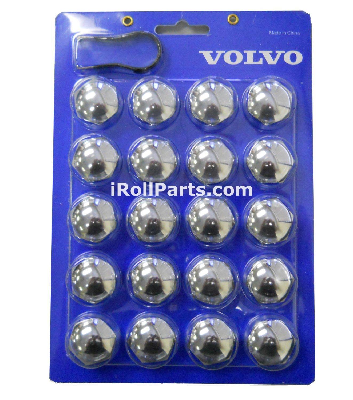 Genuine Volvo Lug Bolt Covers S60 S80 V70 XC70 XC90 See Description p//n 9139853 NEW OEM