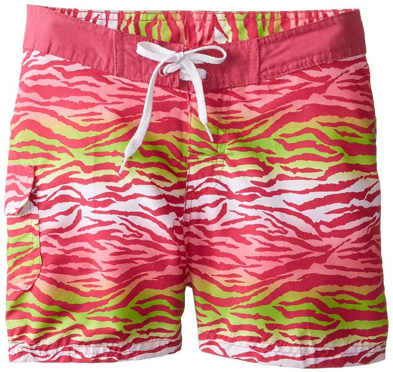 Kanu Surf Big Girls' Malea Board Short Pink X-Large (16) Kanu Surf Girls 7-16