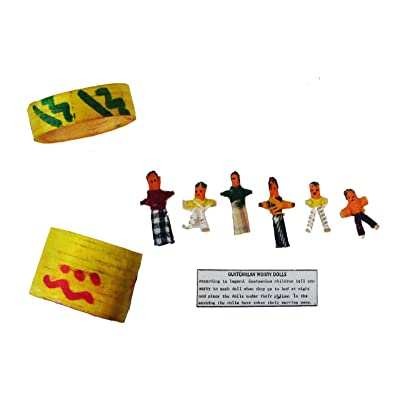 Guatemalan Worry Dolls in a Box: Toys & Games