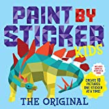 Paint by Sticker Kids, The Original: Create 10 Pictures One Sticker at a Time! (Kids Activity Book, Sticker Art, No Mess…