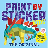 Paint by Sticker Kids: Create 10 Pictures One Sticker at a Time! (Kids Activity Book, Sticker Art, No Mess Activity, Keep Kids Busy)