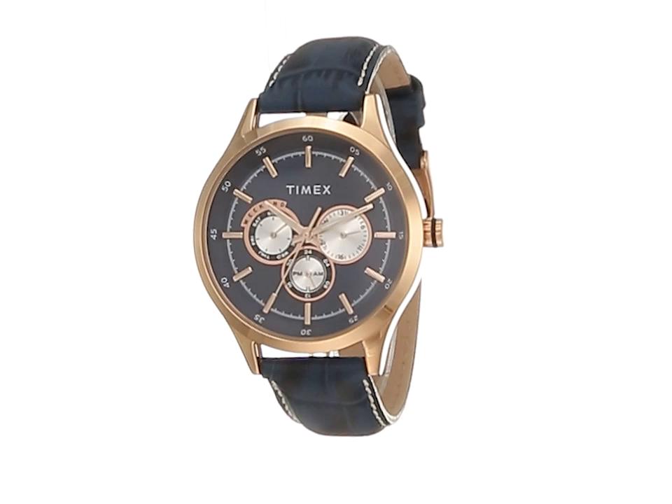 Timex Analog Blue Dial Men's Watch - TW000T310