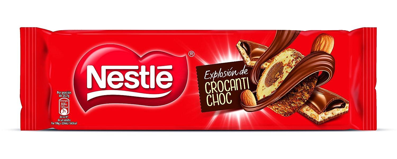 Nestlé Chocolate con leche relleno de crema de cacao y leche sabor a vainilla con almendras caramelizadas - 240 gr: Amazon.es: Alimentación y bebidas