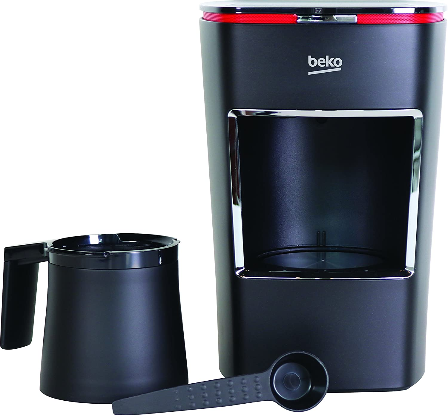 Beko Turkish Coffee Maker, Top Layer Froth with the Consistent Perfect Cup of Coffee Available Through This Ancient Brewing Method, Black Color