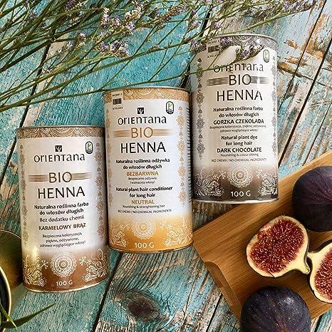 Orientana Bio Henna Für Mittellanges Und Kurzes Haar Haselnuss 100 Vegan 100 Aus Kräutern Eine Dauerhafte Haarfarbe Die Dem Haar Fülle Verleiht 50 G Beauty