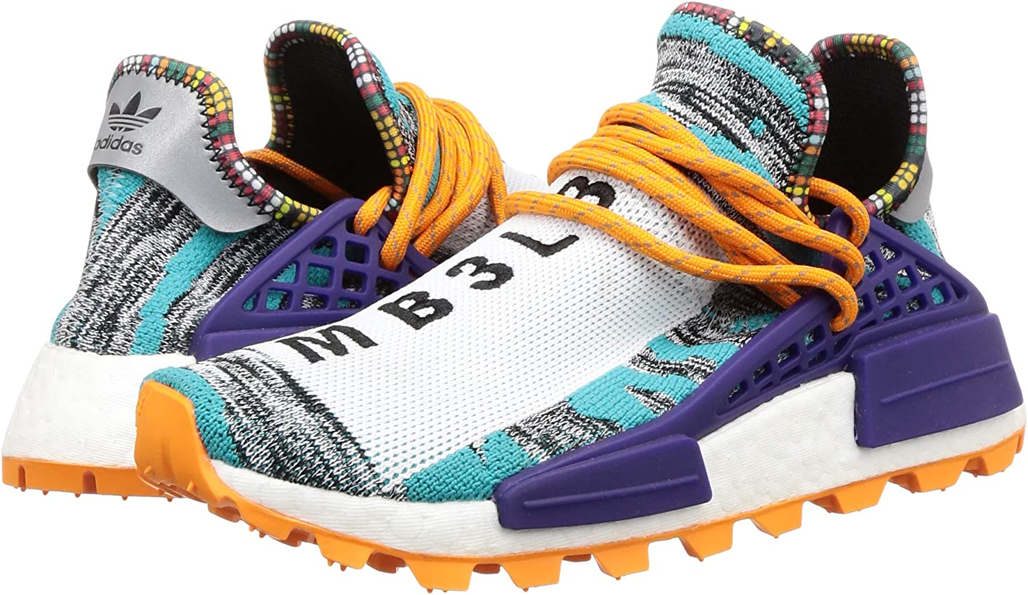 adidas NMD Human Race Trail 'Solar Pack' BB9528 Size 42