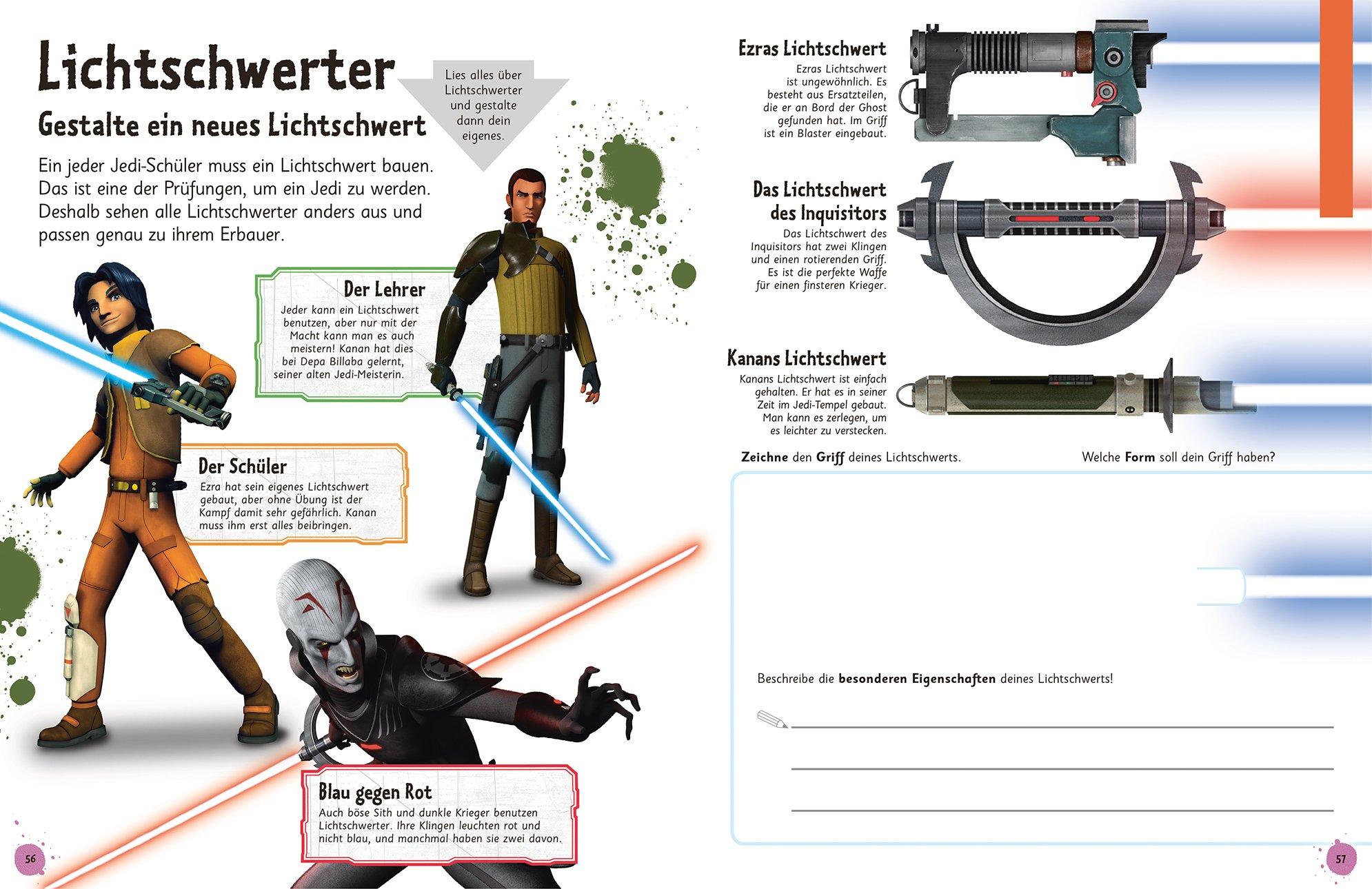 Das Mach-Malbuch. Star Wars Rebels(TM): 9783831028719: Amazon.com: Books