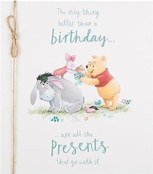 Winnie Pooh Geburtstagskarte