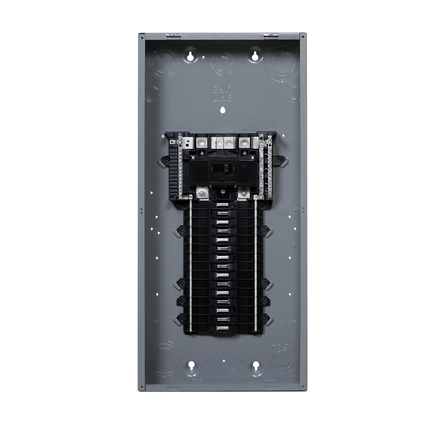 Square D by Schneider Electric QO Plug-On Neutral 150 Amp Main Breaker  30-Space 30-Circuit Indoor Load Center with Cover - - Amazon.com