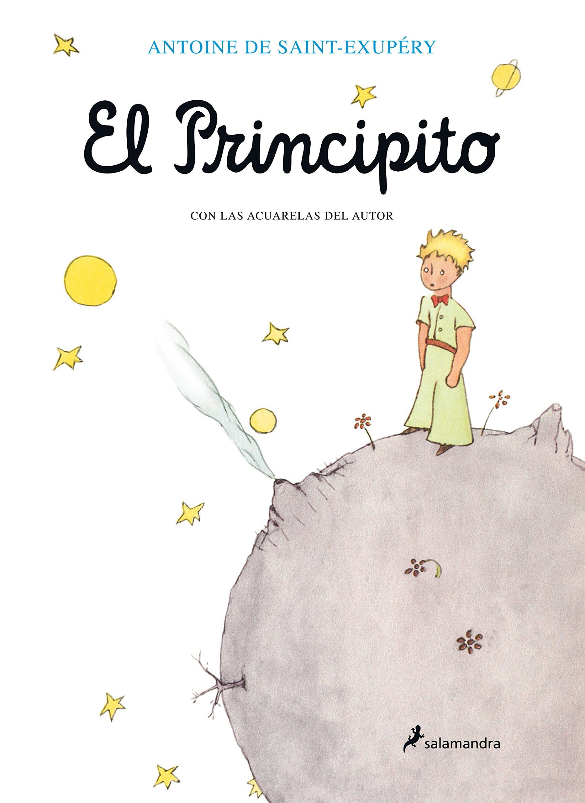 Amazon.com: El principito (Spanish Edition) (9788478886296): Antoine de  Saint-Exupéry: Books