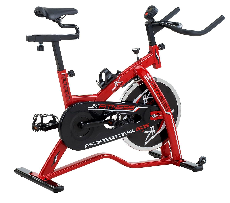 JK FITNESS jk505 Indoor Cycle, Rot