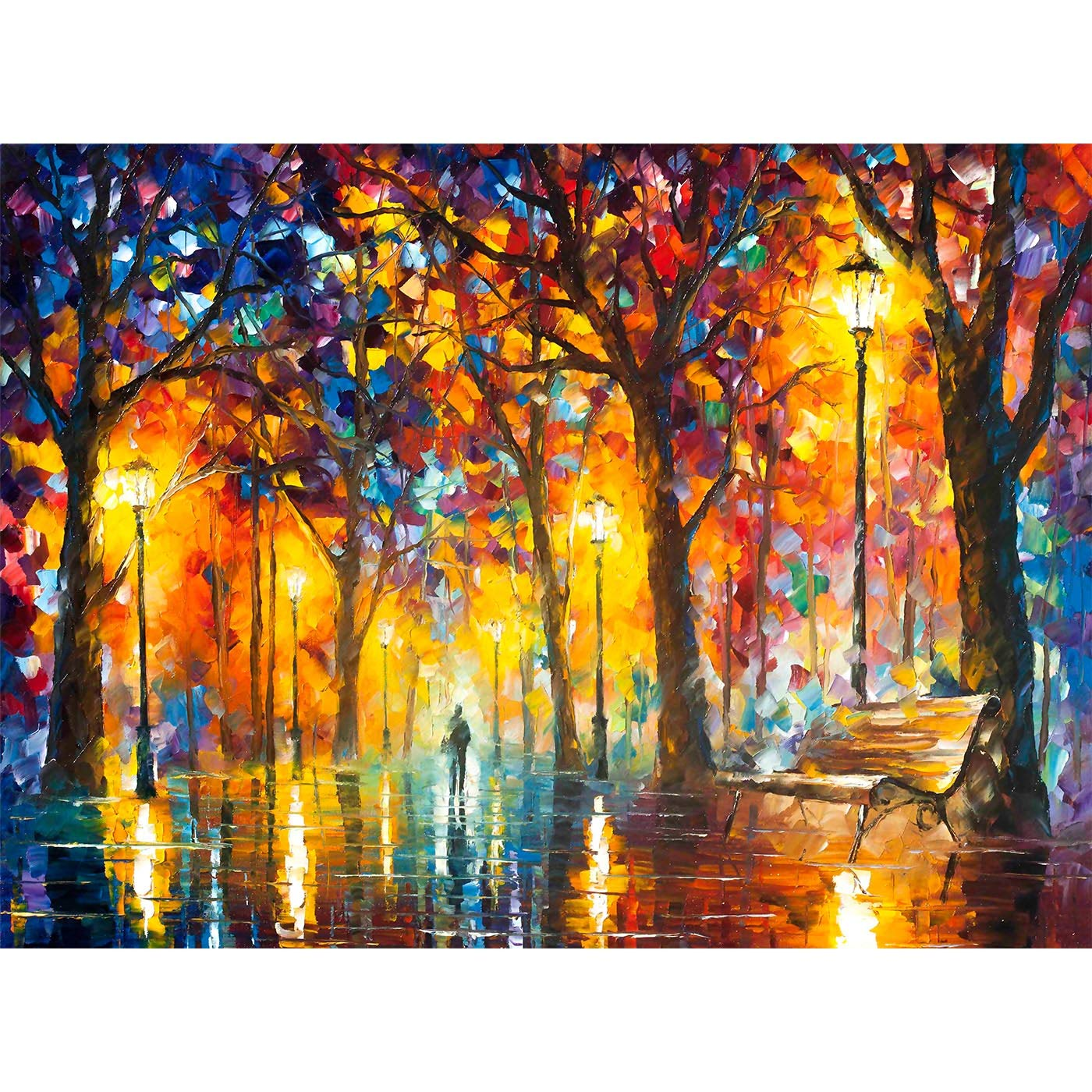 Chinese street walk Canvas wall Art prints high quality great value