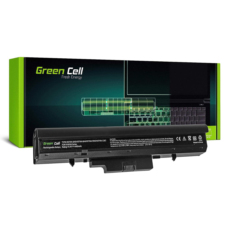 Green Cell® Standard Serie VC08 HSTNN-FB40 HSTNN-IB45 Batería para HP 510 530 Ordenador (8 Celdas 4400mAh 14.4V Negro): Amazon.es: Electrónica
