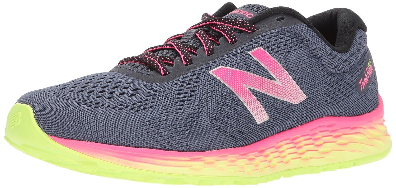 New Balance Women's Fresh Foam Arishi V1 Running Shoe B01MQZQJVE 6.5 B(M) US|Thunder/Alpha Pink
