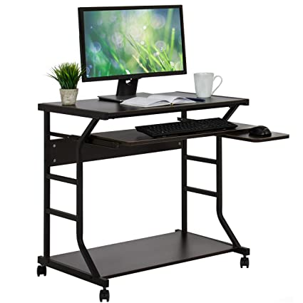 Amazon Com Best Choice Products 2 Tier Home Office Computer Desk