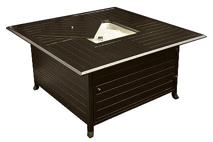 Amazon.com : AZ Patio Heaters HIL-FP-1108 Square Slatted Aluminum ...