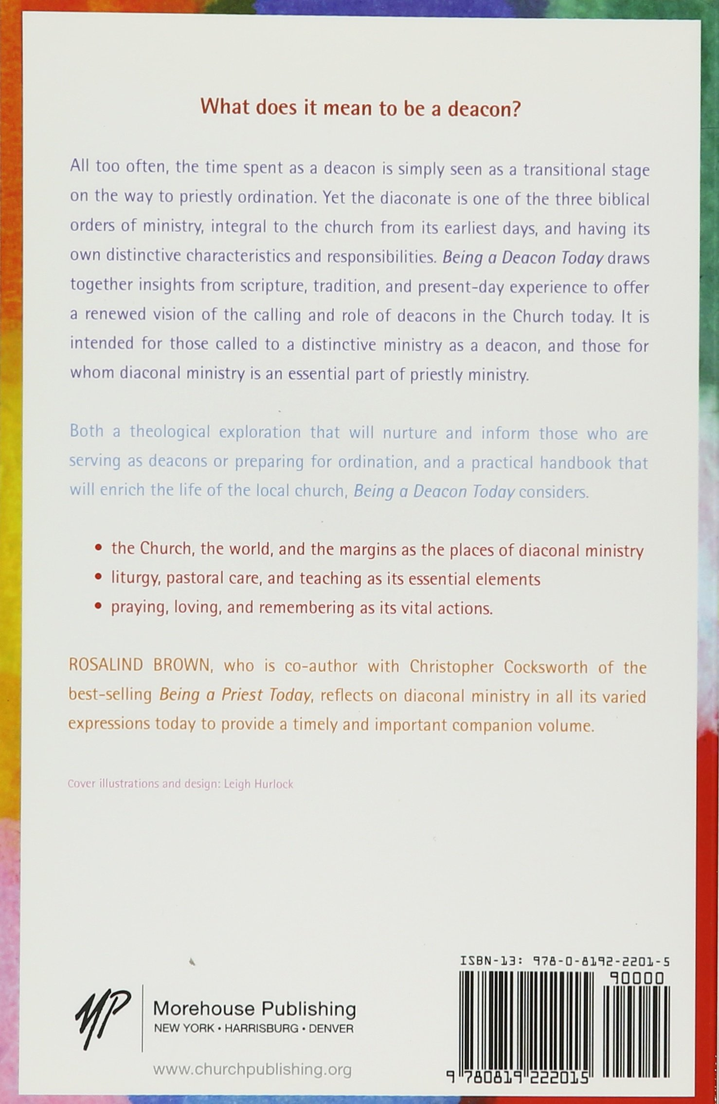 Amazon being a deacon today exploring a distinctive ministry amazon being a deacon today exploring a distinctive ministry in the church and in the world 9780819222015 rosalind brown books fandeluxe Image collections
