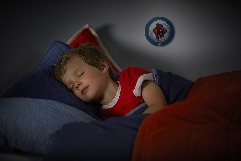 con Sensore di Movimento Philips e Marvel Luce Notturna Spiderman LED