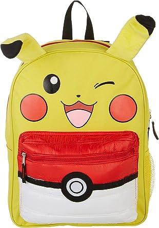 "Pokemon Pikachu Cartoon Pokeball Comic 16/"" School Backpack Bookbag Bag New"