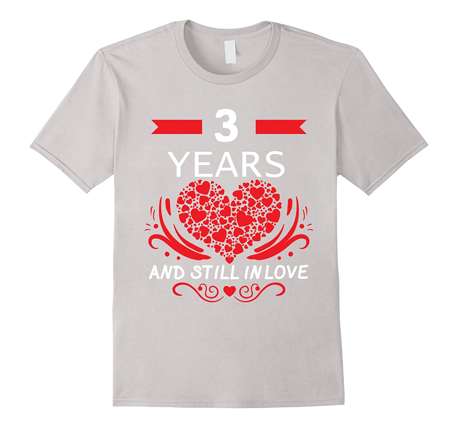 3rd Wedding Anniversary Gifts 3 Year Shirt For Him and Her-RT ...