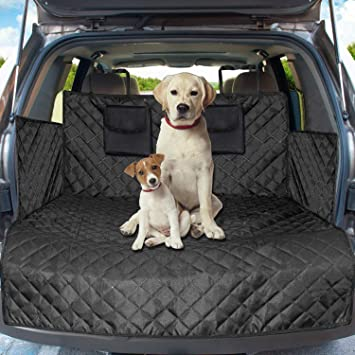 1 X Sakura Universal Vehicle Boot Liner Durable Black Protect Pets Dirt Water