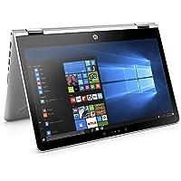 HP Pavilion x360 14-ba104na 14-Inch FHD Touch Screen Convertible Laptop - (Silver) (Intel i5-8250U, 8 GB RAM, 256 GB SSD, Intel UHD Graphics 620, Windows 10 Home)