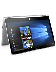 HP Pavilion x360 14-ba104na 14-Inch FHD Touch Screen Convertible Laptop - (Silver) (Intel i5-8250U, 8 GB RAM, 256 GB SSD, Intel UHD Graphics 620, Windows 10 Home)