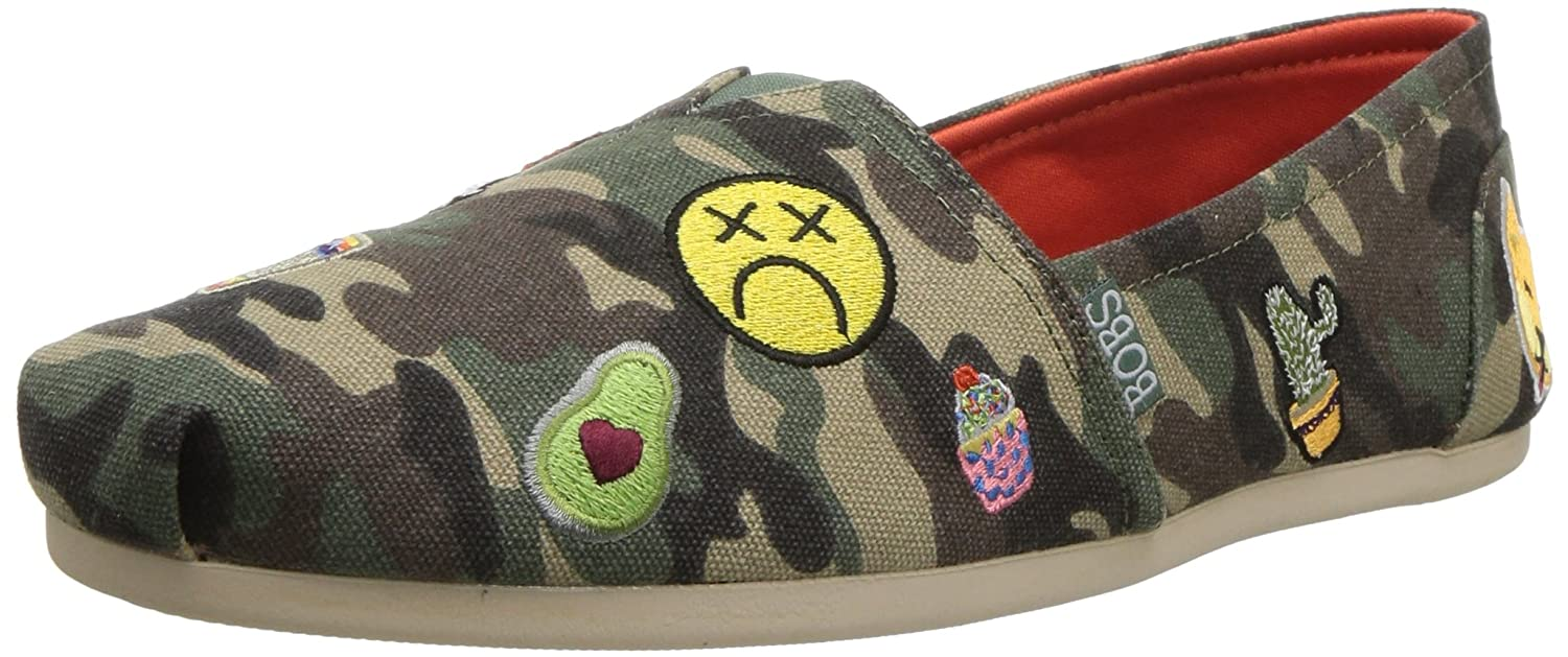 Skechers BOBS from Women's Bobs Plush-Perfect Patch Flat B01MSVWLXS 9.5 B(M) US|Camouflage