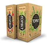 TOPBiT-Protein Food Topping Bundle Pack, Mixed Berry & Savory Herb, 12 Packets Each, Plant-Based Vegan Protein Topping, Dairy and Gluten Free