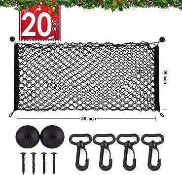 Keeper 6141 Zip Net Adjustable Cargo Net 06141