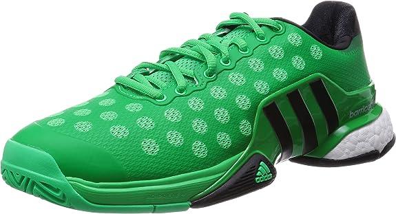 adidas Barricade 2015 Boost - Zapatillas para Hombre, Color Negro/Plata/Blanco, Talla 51 1/3: Amazon.es: Zapatos y complementos
